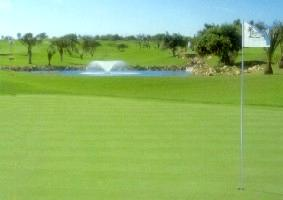 Boavista golf course in Lagos Algarve in Portugal