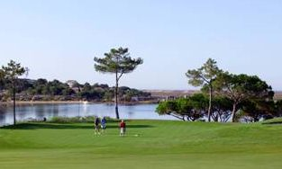 Quinta do Lago golf course, Vale do Lobo, Algarve, Portugal