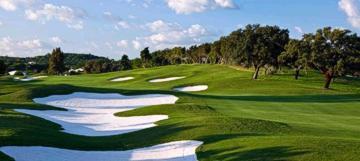 Quinta do Lago Laranjal golf course, Vale do Lobo, Algarve, Portugal