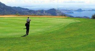 Santo da Serra golf course Machico Madeira Portugal